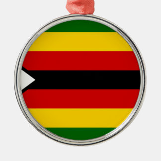 Flag of Zimbabwe - Zimbabwean - Mureza weZimbabwe Metal Ornament