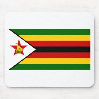 Flag of Zimbabwe - Zimbabwean - Mureza weZimbabwe Mouse Pad