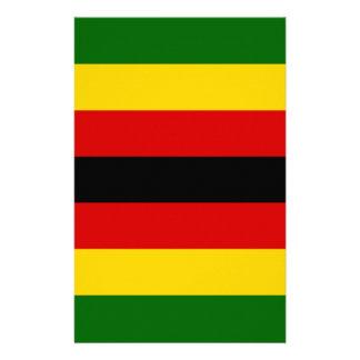 Flag of Zimbabwe - Zimbabwean - Mureza weZimbabwe Stationery