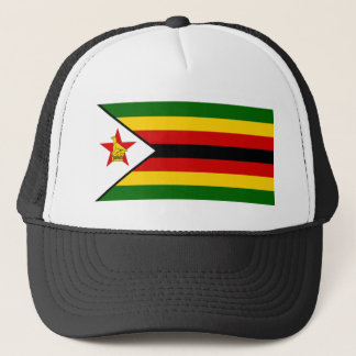 Flag of Zimbabwe - Zimbabwean - Mureza weZimbabwe Trucker Hat