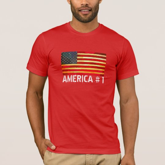Flag & Red Apparel T-Shirt