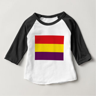 Flag Republic of Spain - Bandera República España Baby T-Shirt