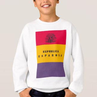 Flag Republic of Spain - Bandera República España Sweatshirt
