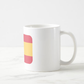 Flag spain Twitter emoji Coffee Mug