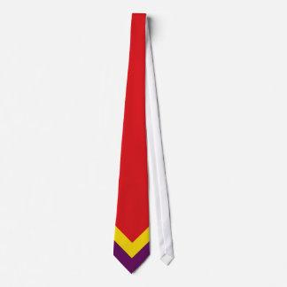Flag Spanish republic Tie