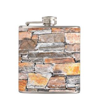 Flag stone hip flask