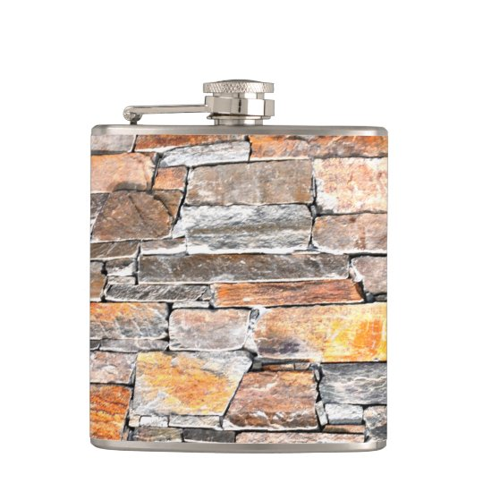 Flag stone hip flask