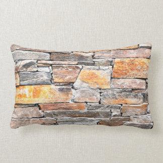 Flag stone lumbar pillow