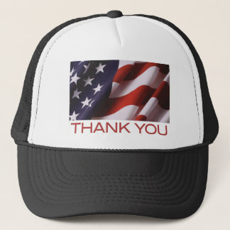 Flag-Thank You Trucker Hat