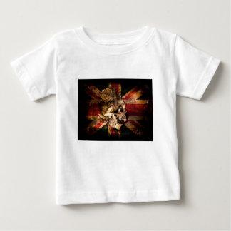 Flag United Kingdom England London Grunge Baby T-Shirt