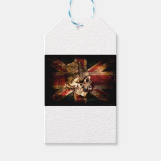 Flag United Kingdom England London Grunge Gift Tags