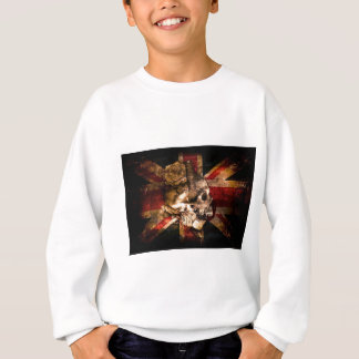 Flag United Kingdom England London Grunge Sweatshirt