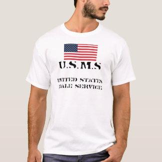 flag, United States Male Service, U.S.M.S T-Shirt