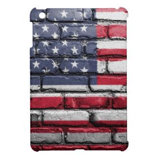 Flag Usa America Wall Painted American Usa Flag Cover For The iPad Mini