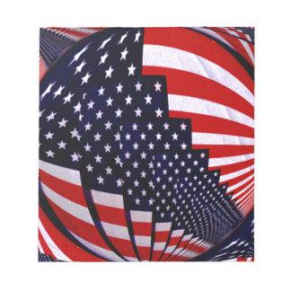 Flag-USA -Spread the Love_ Notepad