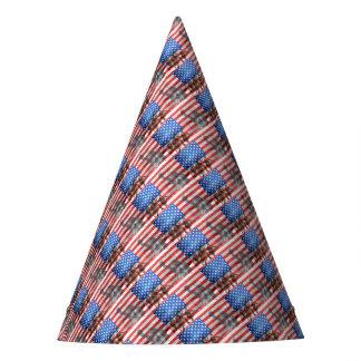 Flag USA veteran Personalize Destiny Destiny'S Party Hat