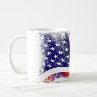 Flag WHITE America Mug 325 ml Mug