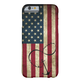 Flag with Infinity Anchor Barely There iPhone 6 Case