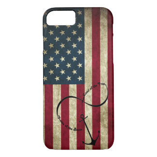 Flag with Infinity Anchor Case-Mate iPhone Case