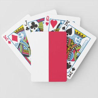 Flaga Polski - Polish Flag Bicycle Playing Cards