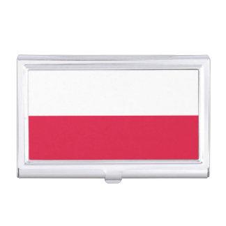 Flaga Polski - Polish Flag Business Card Holder