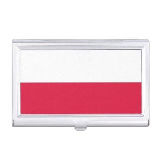 Flaga Polski - Polish Flag Business Card Holders