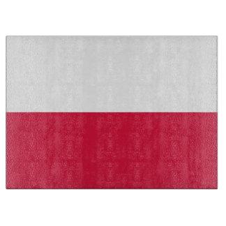 Flaga Polski - Polish Flag Cutting Board
