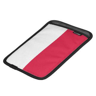 Flaga Polski - Polish Flag iPad Mini Sleeves