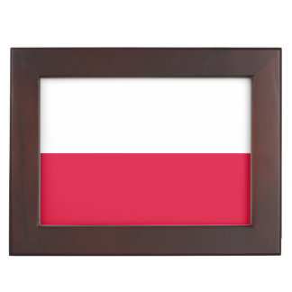 Flaga Polski - Polish Flag Keepsake Box