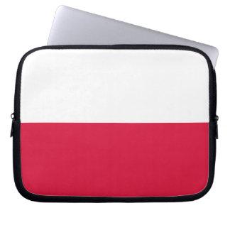Flaga Polski - Polish Flag Laptop Sleeve