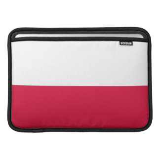 Flaga Polski - Polish Flag MacBook Sleeve