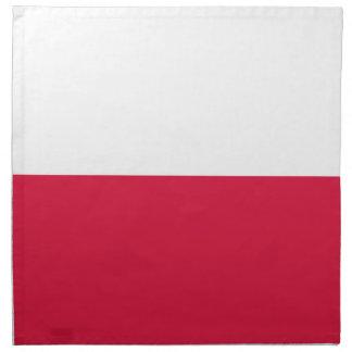 Flaga Polski - Polish Flag Napkin