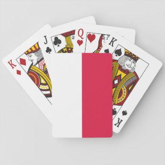 Flaga Polski - Polish Flag Playing Cards