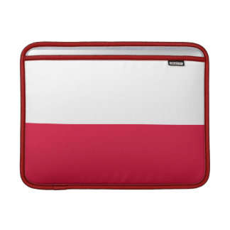Flaga Polski - Polish Flag Sleeve For MacBook Air