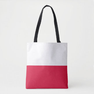 Flaga Polski - Polish Flag Tote Bag