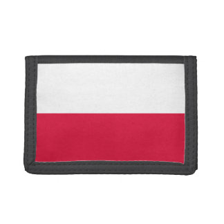 Flaga Polski - Polish Flag Tri-fold Wallet