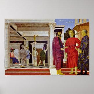 Flagellation Of Christ By Piero Della Francesca Poster