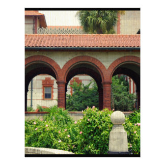 Flagler Archway Personalized Letterhead