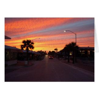 Flagler Avenue - New Smyrna Beach, FL Card