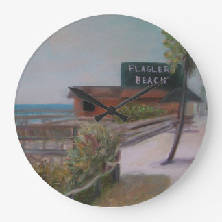 FLAGLER BEACH Clock