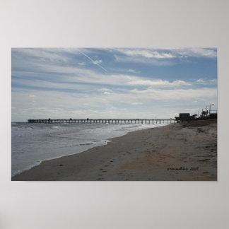 Flagler Beach, FL Poster
