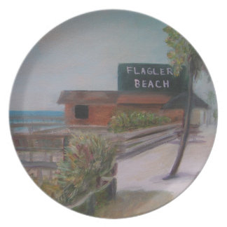 FLAGLER BEACH Plate