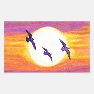 Flagler Beach Seagulls Sticker