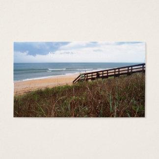 Flagler Beach Walkway Business Card