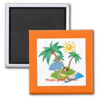 FlaglerBeach, Florida refrigerator magnet template