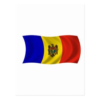Flagof Moldova Postcard