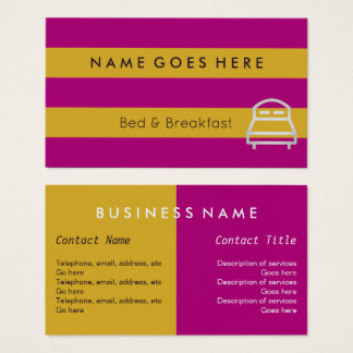 """Flags"" B&B Business Cards"