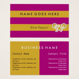 """""""Flags"""" Bike Repair Business Cards"""