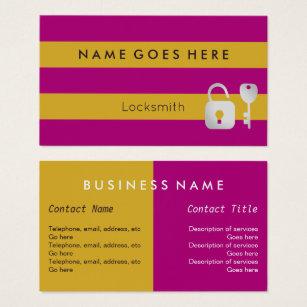 Locksmith business cards business card printing zazzle ca flags locksmith business cards colourmoves Choice Image