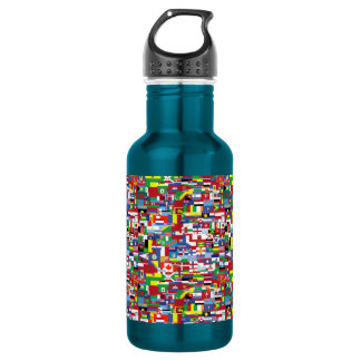 Flags of All Nations 532 Ml Water Bottle